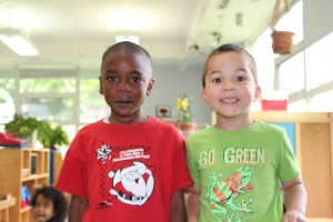 Two Preschool Boys